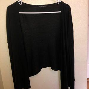 Brandy Melville Soft Black Cardigan
